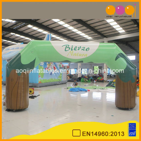 Aoqi Beautiful Advertising Inflatable Arch for Trade Show (AQ53195)