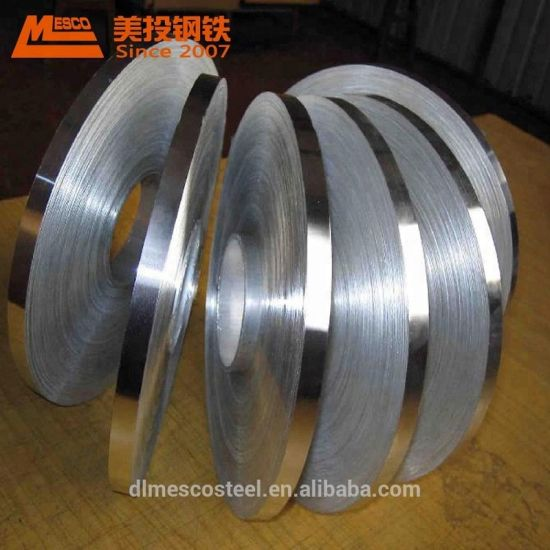 Galvanized Steel Strips Gi Slit Steel Coil Zinc Coatedd Narrow Coil Belt in Coil pictures & photos