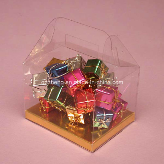 Clear Small Cake Packing Box Folding Printing Bakery Pastry Packaging Box Food