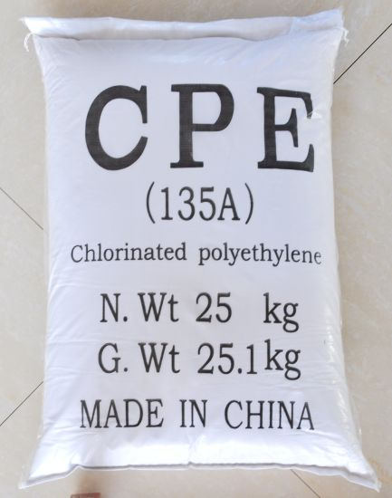 CAS No. 64754-90-1 Chlorinated Polyethylene CPE for Plastic PVC Products