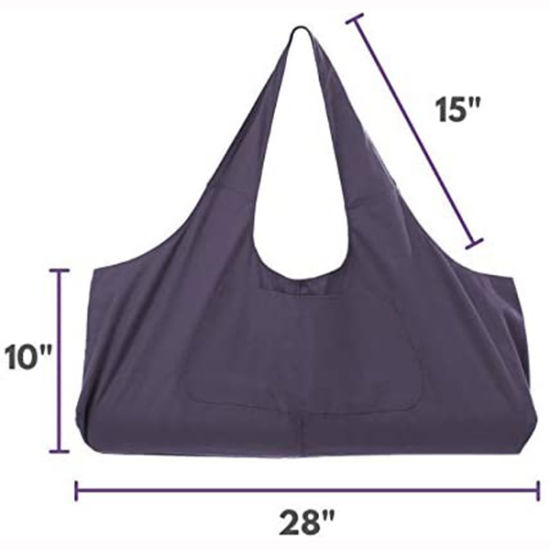 China Large Yoga Mat Tote Sling Carrier Bag With Side Pocket China Travel Bag And Duffel Bag Price