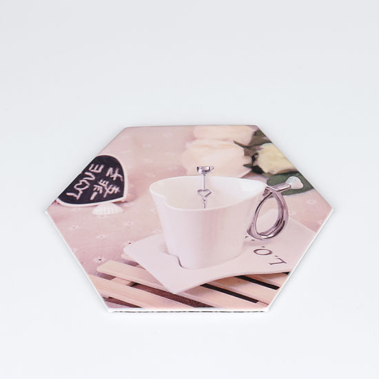 Sublimation Blank Non-Slip Leather Coasters