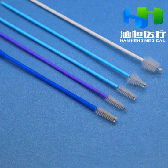 Disposable Sampling Brush for Cervical Screening for Cytology and Hpv Testing with CE-ISO Certificates Medical Supplier
