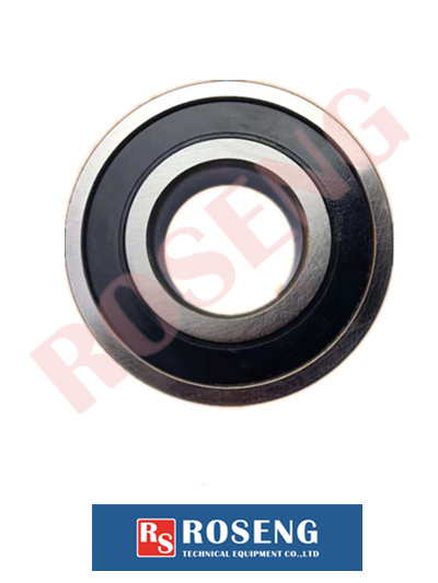 Rubber+Bearing Steel Deep Groove Ball Bearing