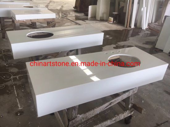 Nano Glass Stone for Sink and Vanity Tops pictures & photos