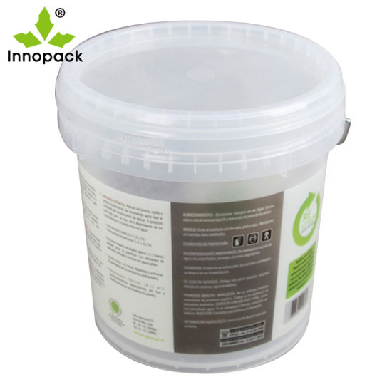 China Innopack 19L/5 Gallon Food Grade Screw Lid Clear
