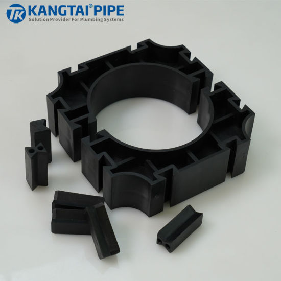 CPVC High Voltage Underground Power Cable Pipe Sn16 Airport Tube Clamp