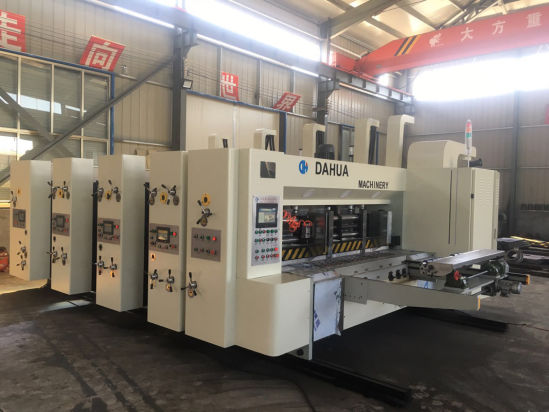 Corrugated Cardboard Carton Flexo Printing and Die Cutting Machine Price