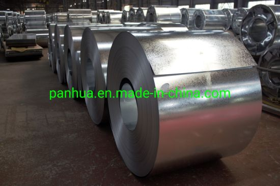 Prices of Metal Iron Steel Roll Hot Dipped Galvanized Panhua Group
