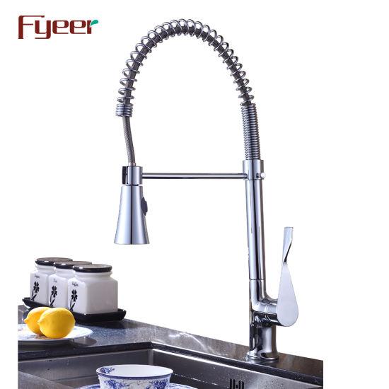 Wenzhou Fyeer Pull Down Sink Washing Kitchen Mixer
