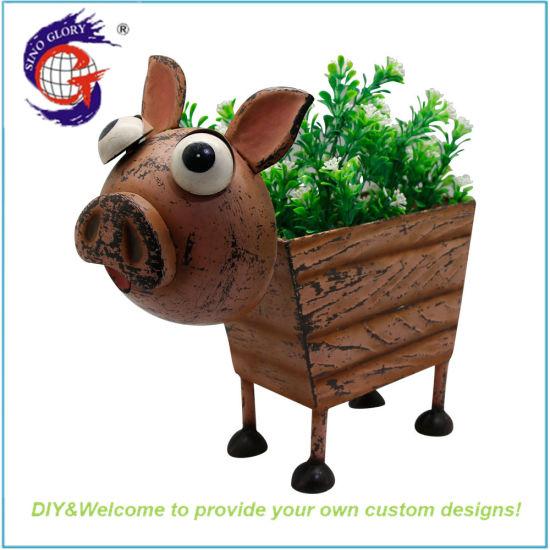 Garden Decorative Large Pig Plant Pot Wholesale