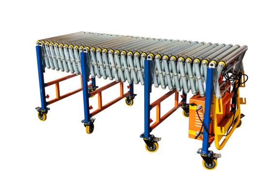 Motorized Conveyor Roller Material Steel Roller Conveyor Systems