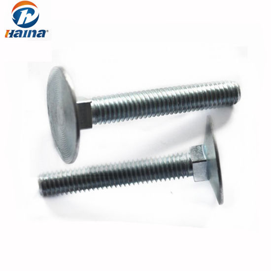 Zinc Hard-to-Find Fastener Elevator Bolts 2 Pack 1//4-20 x 1