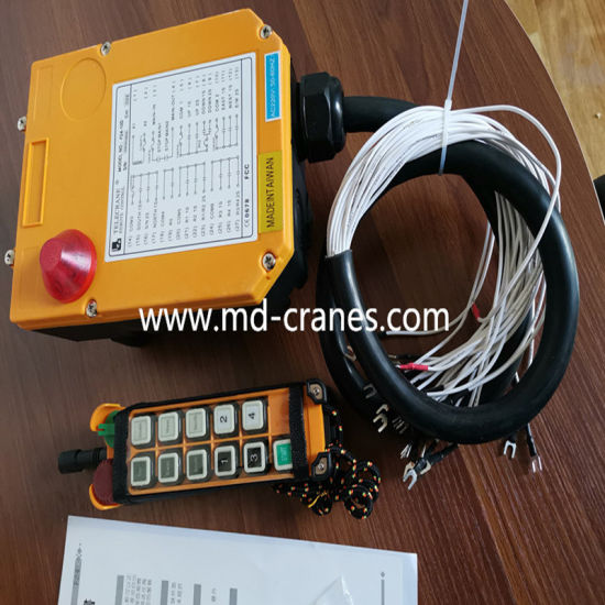 Telecrane Crane Double Speed Control Radio Remote Control with 10 Buttons pictures & photos