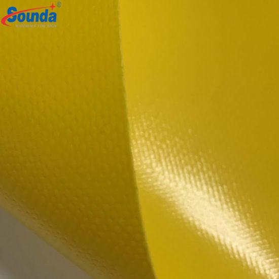 Popular Laminated PVC Tarpaulin 1000*1000d, 9*9, 460g