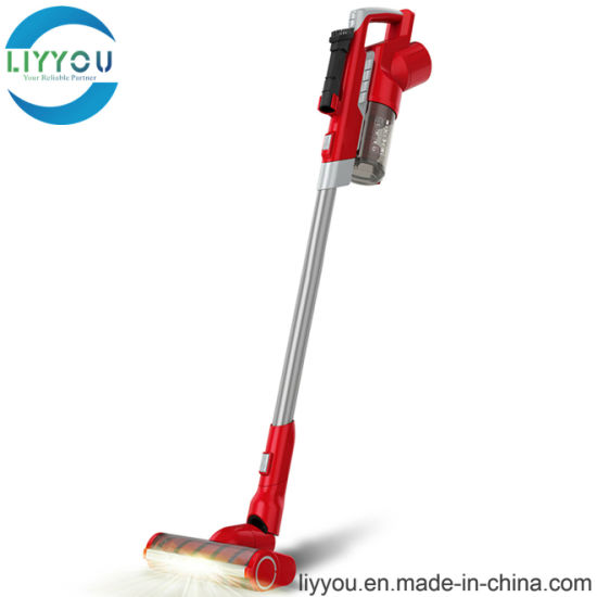 60 Minutes Long Running Time Upright Handheld Cordless Cyclone Stick Vacuum Cleaner