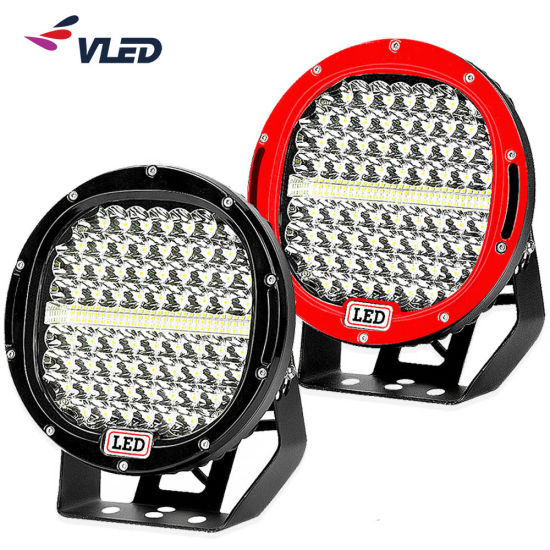 9 Inch High Power Combo Beam Ce RoHS LED Driving Work Light with Bottom Bracket for Offroad Truck