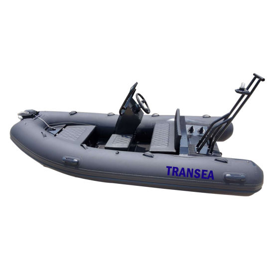 Featured Rib Boats Accessories Inflatable 3.6 M Aluminum Hull Rowing Featured Rib Boats Accessories Without Outboard Motor