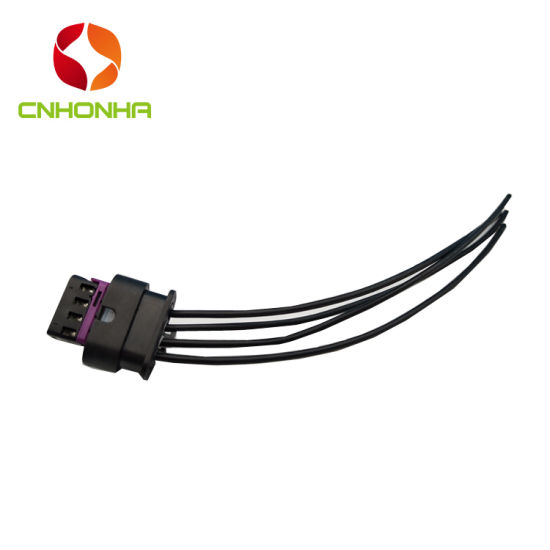China 4 Pin 1718657-1 Waterproof Automotive Electrical Female Cable Wiring  Harness - China Wiring Harness, Wire HarnessHonha Autoparts Group Co., Limited