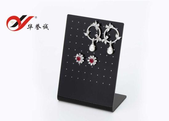 Set of 3 Acrylic Earrings Jewelry Display Stand Holder Rack T-Shape Showcase !