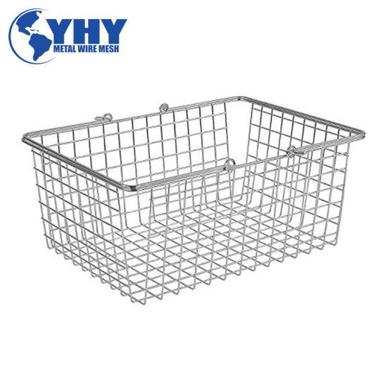 Industrial Storage Metal Still Age Wire Mesh Pallet Cage