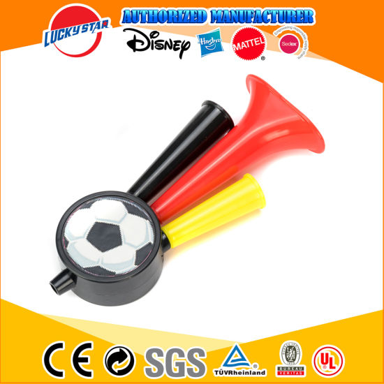 Soccer Horn Plastic Music Kids Toy for Promotion