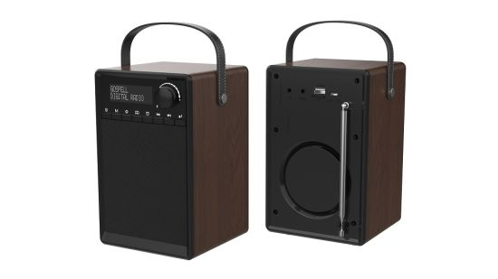 Elegant Portable Radio Crystal Clear DRM Digital Radio and Am / FM Full-Band Receiver pictures & photos