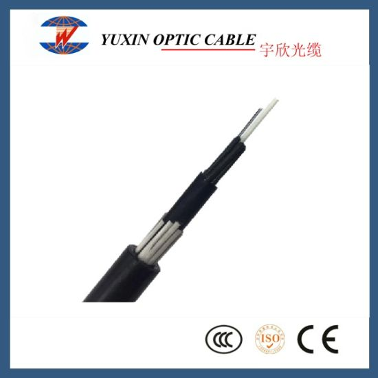 24/72/96 Core Glass Yarn Armored ADSS Optical Fiber Cable (GYFTY63-FS)