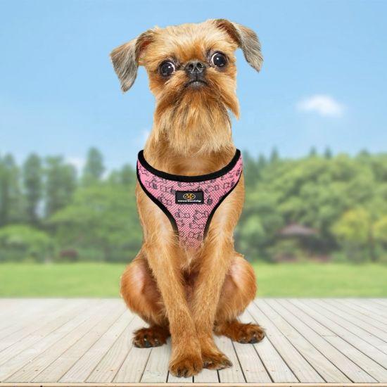 Amazon Hot Selling Customize Pattern Adjustable Dog Collar /Dog Harness/Pet Toy