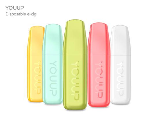 Wholesale Disposable Electronic Cigarette Youup 113 Colored Smoke Ciagarette