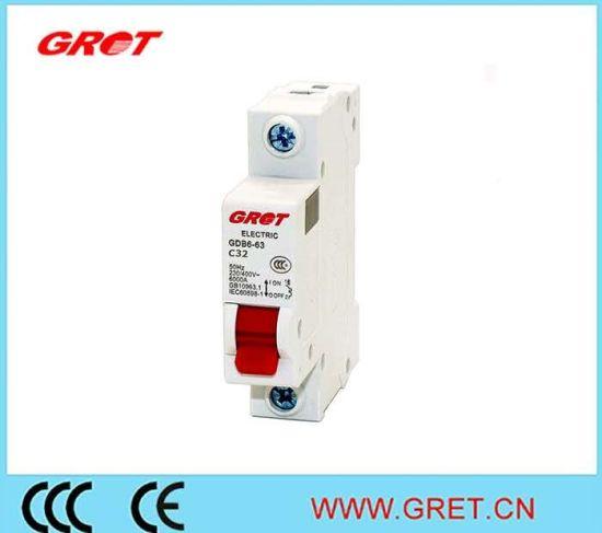 32A 1p 415V Low Voltage High Breaking Capacity Mini Circuit Breaker