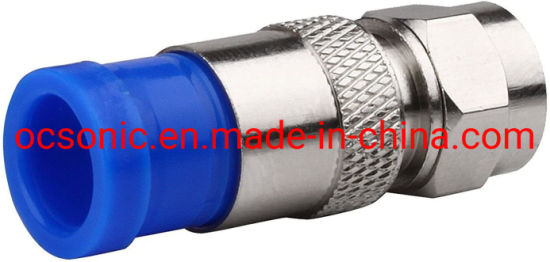 RG6 F Type Connector Coax Coaxial Compression Twist-on