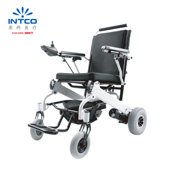 Fashionable Portable Lightweight Folding Electric Wheelchair pictures & photos