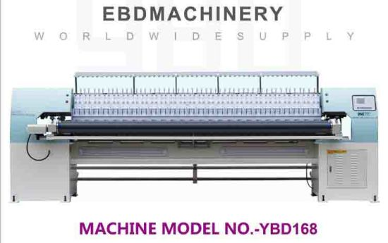 Ybd168 High Efficiency Quilting Embroidery Machine (automatic retraction embroidery function)
