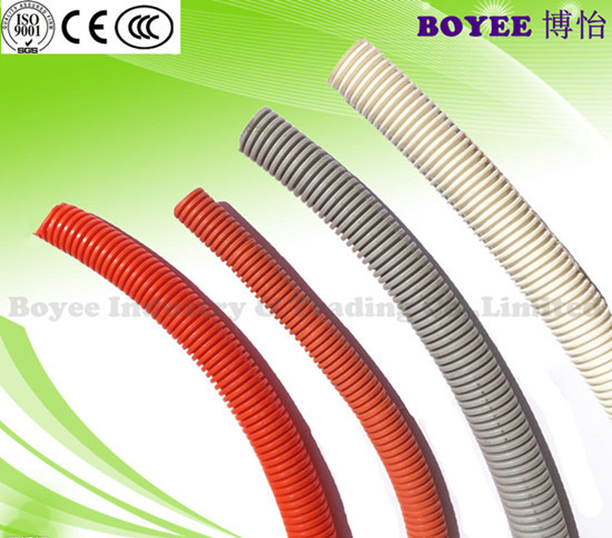 PVC Flexible Corrugated Conduit/Flexible Corrugated Electrical Conduit Pipes pictures & photos