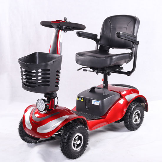 4 Wheel Folding Electric Moility Scooter for Disabled