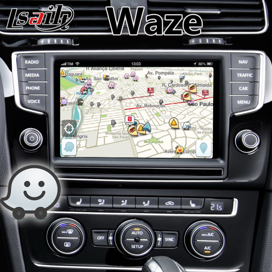 China Car DVD Player Android Interface Navigation for VW Golf 7 with