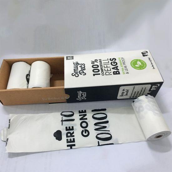 Pet Product 100% Biodegradable Dog Waste Bag/ Dog Poop Bag