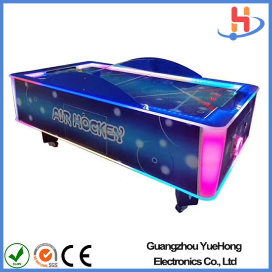 Family Game Two Players Unique Design Large Air Hockey Table Game Machine with Tickets Redemption