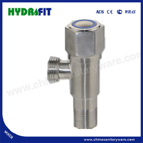 Stainless Steel 304 Durable Angle Valve with High Quality (FT8804)