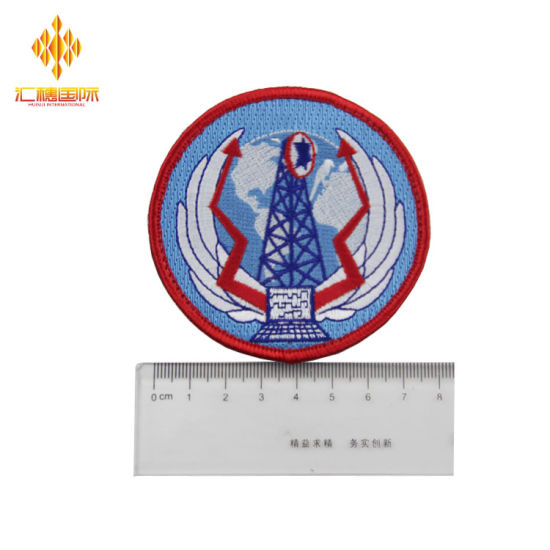 Wholesale Custom Round Shape Embroidery Patch for Clothing