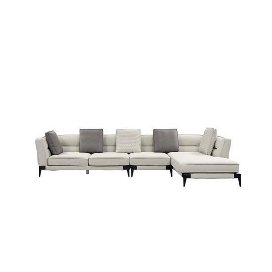 Amazing French Contemporary L Shape Sectional White Elegant Fabric Tufted Sofa Set Creativecarmelina Interior Chair Design Creativecarmelinacom