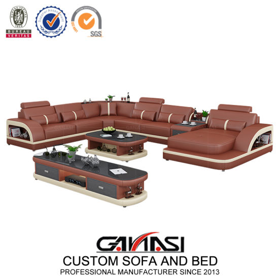 Best Selling Gorgeous European Indoor Chaise Sofas 7 Seater