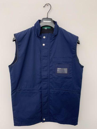 Cotton Twill Uniform Gilet/Vest Workwear, Company and Factory Staff Uniform