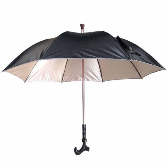 c68d3a3ba9ea0 China T-Handle Cane Umbrella Walking Stick Umbrella - China Wine ...