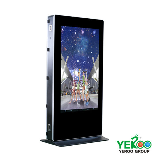 Chinese Manufacturer Touch Screen Free Standing LCD Advertising Display