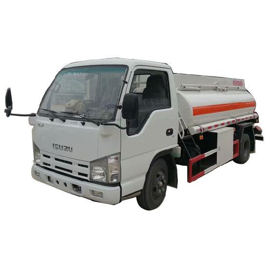 Japan Brand Isuzu 100p Euro 4 Euro 5 98HP Isuzu Fuel Tanker Truck for Diesel Gasoline Oil