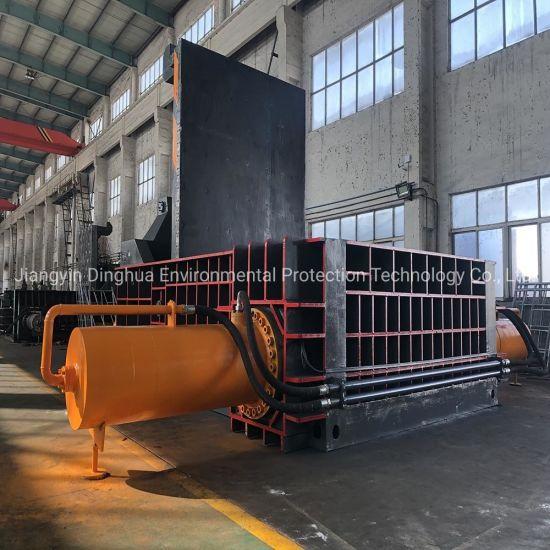 Hydraulic Scrap Iron Sheet Metal Baler Shear/Metal Scrap Baling Machine