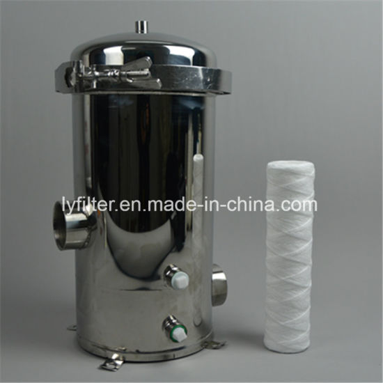 Whole House Commercial Industrial Pre-Treatment Stainless Steel Water Filter Tank Housing