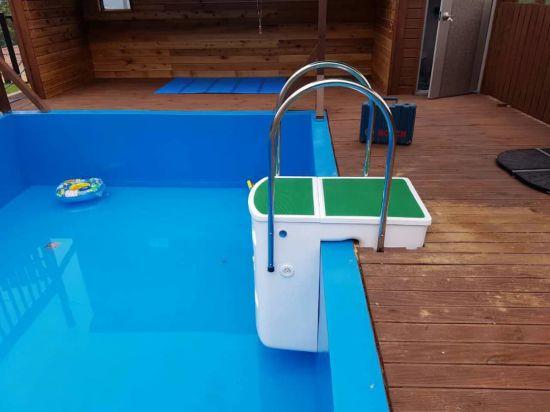 Compact Wall Hanging Swimming Pool